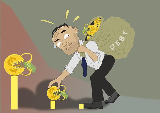chlap s dluhy